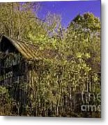 Mail Pouch Barn-0107 Metal Print