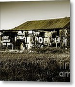 Mail Pouch Barn 7402 Metal Print