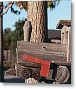 Mail Stop Metal Print