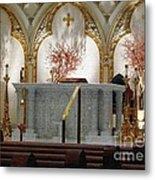 Main Altar Saint Jospehs Cathedral Buffalo New York Metal Print
