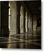 Main Building Arches University Of Texas Metal Print