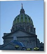 Main Dome Of The State Capital Metal Print