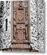 Main Door Huntly Castle - 7 Metal Print