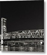 Main Street Bridge Jacksonville Florida Metal Print by Christine Till