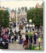 Main Street Disneyland 02 Metal Print