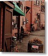 Main Street Metal Print