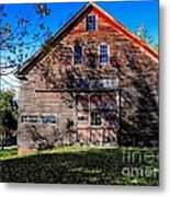 Maine Barn Metal Print
