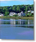 Maine Lakefront Metal Print