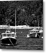Maine Lobster Boats Metal Print