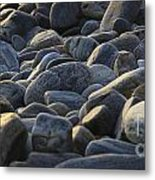 Maine Rocks 1 Metal Print