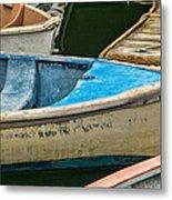 Maine Rowboats Metal Print