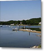 Maine Seascape Metal Print