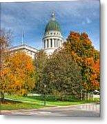 Maine State House Vii Metal Print