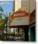 Mainzer Theater Metal Print