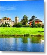 Maisemore Court And Church 2 Metal Print