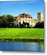 Maisemore Court And Church Metal Print