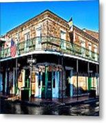 Maison Bourbon - New Orleans Metal Print