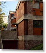 Maisons Jaoul - Le Corbusier Metal Print by Peter Cassidy