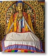 Maitreya Buddha Erdene Zuu Monastery Metal Print