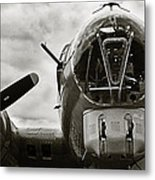 Majestic B17 Bomber From Ww II Metal Print