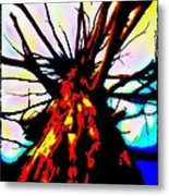 Majestic Fire Metal Print