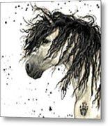 Majestic Grey Spirit Horse #44 Metal Print