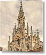 Ubate Cathedral Metal Print