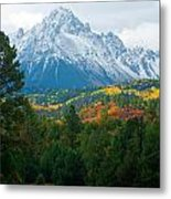 Majestic Mt. Sneffels Metal Print by John Hoffman