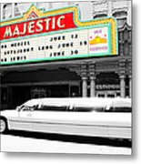 Majestic Night At The Show Metal Print