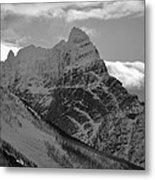 Majestic Peaks Metal Print