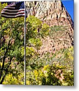Majestic Sight - Zion National Park Metal Print