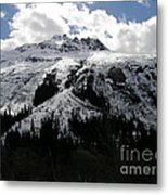 Majestic Skagway Mountaintop Metal Print
