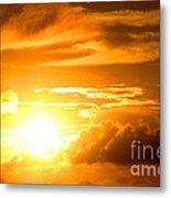 Majestic Sunset Metal Print