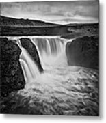 Majesty Of Infernal Metal Print