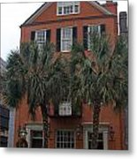 Major Peter Bocquet House Charleston South Carolina Metal Print
