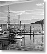 Makah Tribal Trawlers  Metal Print
