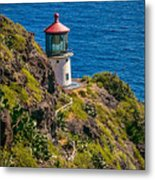Makapu'u Point Lighthouse Metal Print