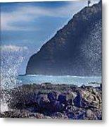 Makapuu Point Lighthouse- Oahu Hawaii V2 Metal Print