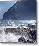 Makapuu Point Lighthouse- Oahu Hawaii V3 Metal Print