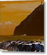 Makapuu Point Lighthouse- Oahu Hawaii V4 Metal Print