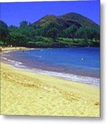 Makena Beach Maui Hawaii Metal Print