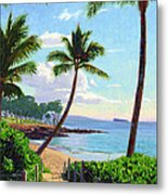 Makena Beach - Maui Metal Print