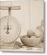 Making Cookies  Metal Print