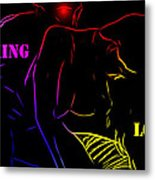 Making Love Metal Print