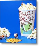 Making Popcorn Metal Print