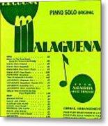 Malaguena Metal Print