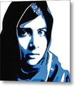 Malala Yousafzai On Friday Metal Print