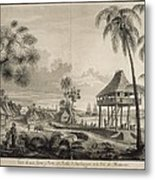 Malaspina Expedition. Philippines 1792 Metal Print