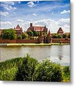 Malbork Castle Metal Print