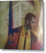 Necessary Means Of Malcolm X Metal Print